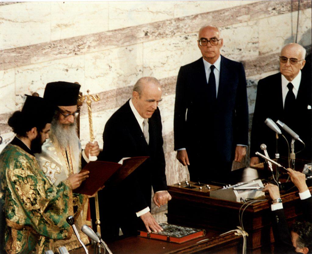 <b>5 Μαΐου 1980</b><br><br>Εκλέγεται Πρόεδρος της Δημοκρατίας
