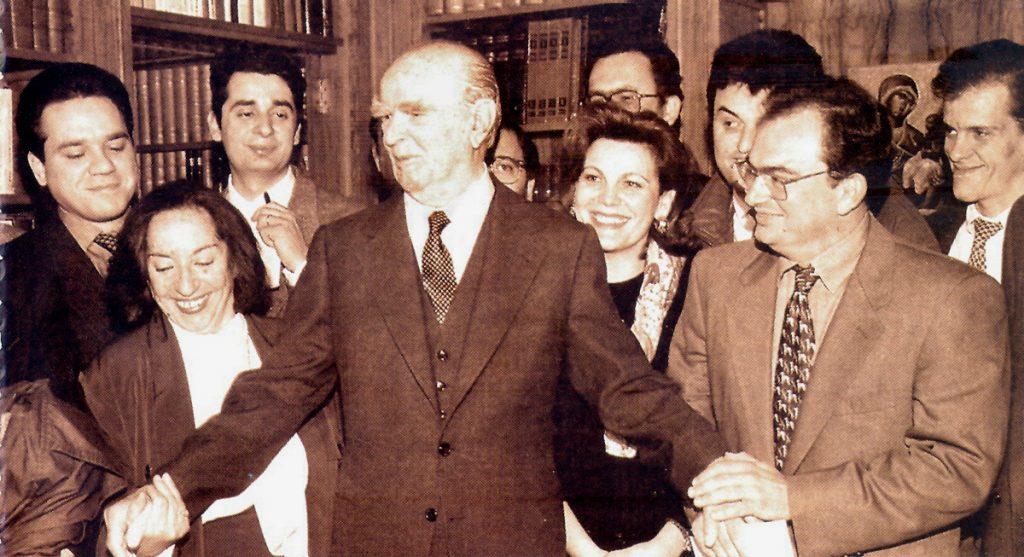 <b>10 Μαρτίου 1995</b><br><br>Λήξη της Προεδρικής θητείας και οριστική αποχώρηση από την ενεργό πολιτική